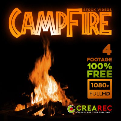 Free CampFire stock footage