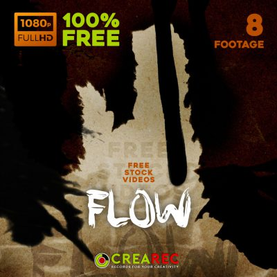 Flow - Free Pre-Keyed footage videos
