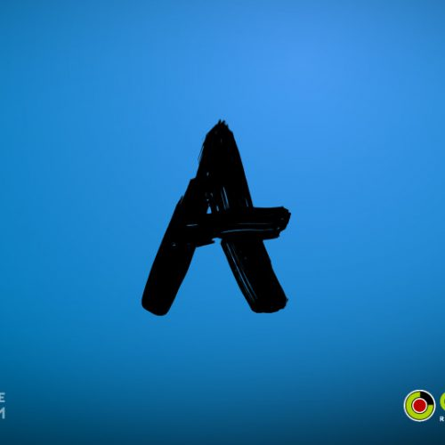 Paint alphabet - Stock video footage pack