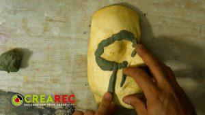 designing the zombie mask