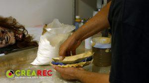 gypsum head making