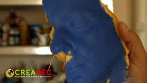 rubber mold face
