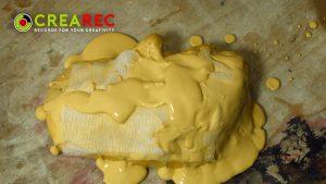 strong gypsum mold