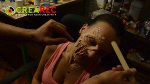 zombie mask gluing