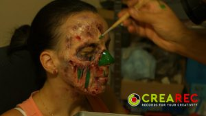 zombie mask making tutorial